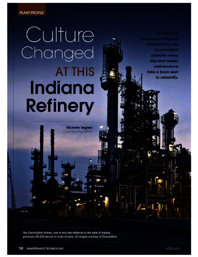 Culture Changed at this Indiana Refinery